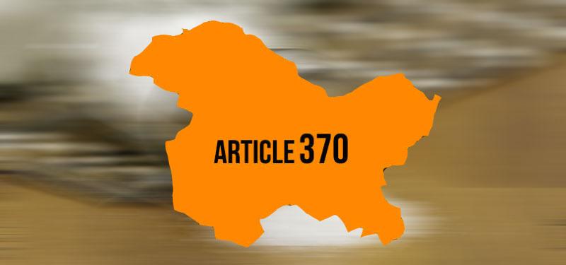 Article 370 and Jammu & Kashmir
