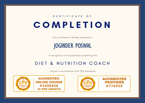 Diet and Nutrition Coach
