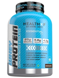 HealthXP 100% Whey Protein