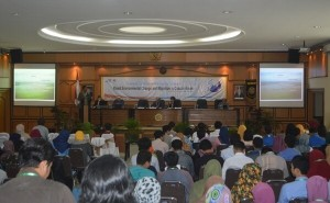 International Conference on New Regional Formations - Rapid Enviromental Change and Migration in Coastal Areas. (Foto: Humas UGM)