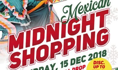 Mexican Midnight Shopping di Hartono Mall Yogyakarta