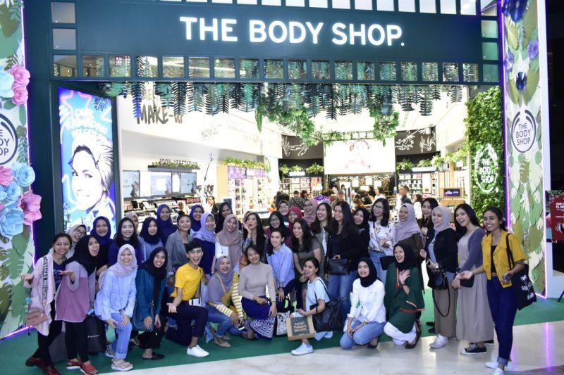 Toko Terbaru dan Terbesar The Body Shop hadir di Hartono Mall