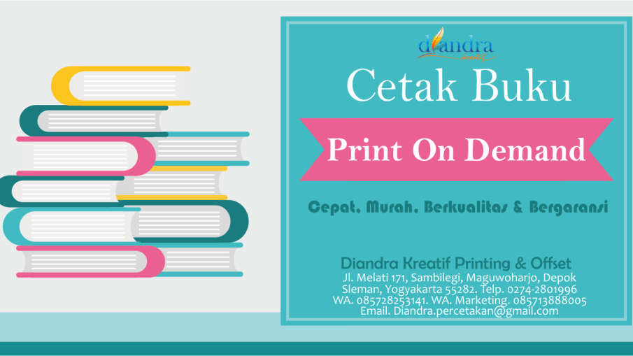 banner cetak buku print on demand