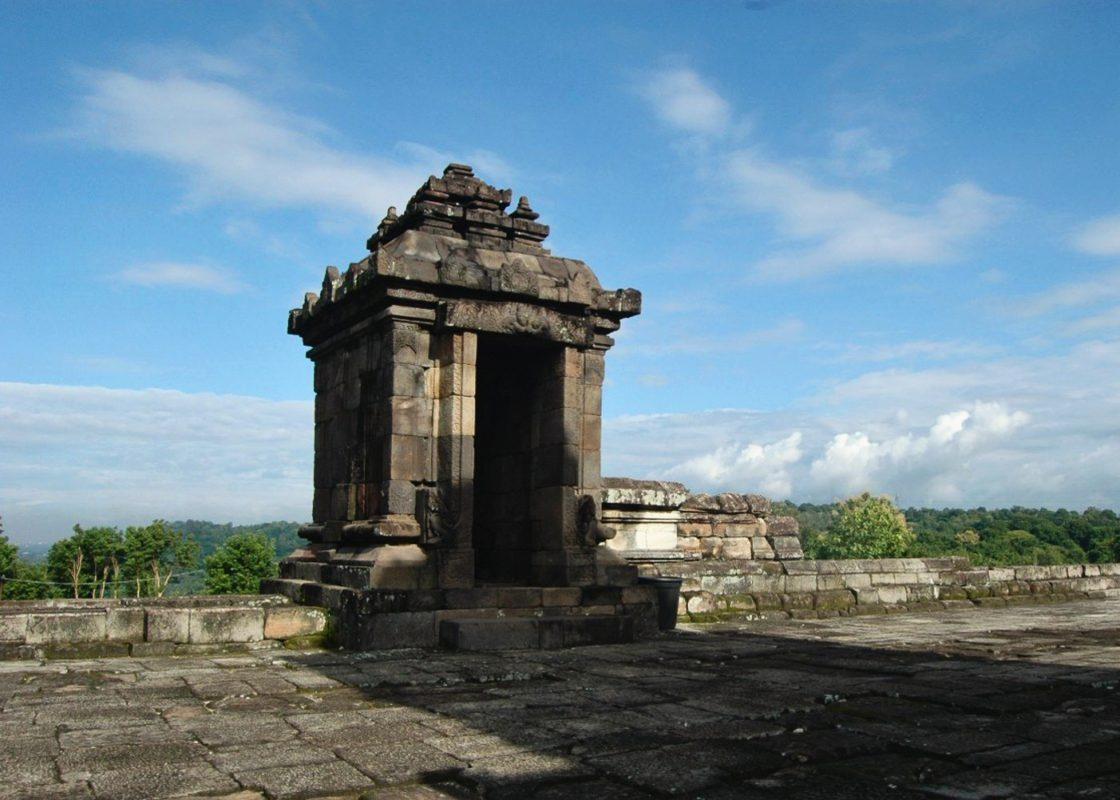 Barong Temple in Jogja Indonesia