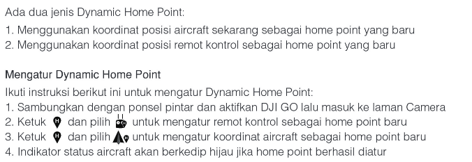 Dynamic Home Point