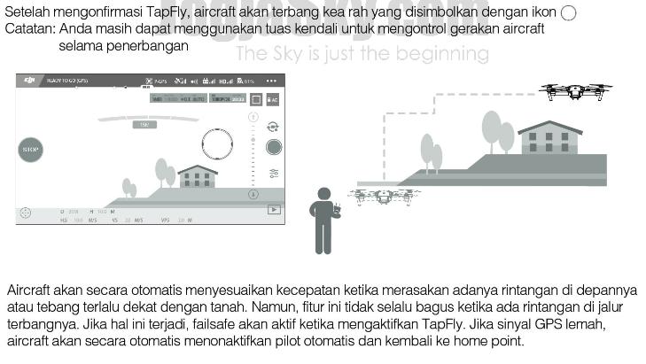 Menggunakan TapFly