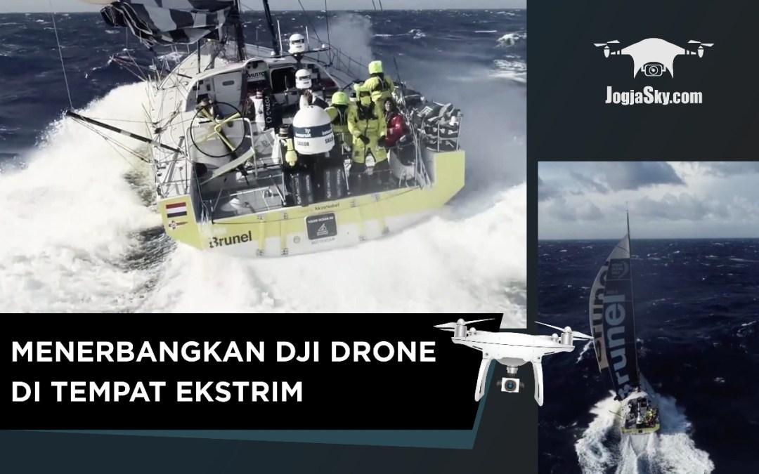 Serunya Menerbangkan DJI Drone di Tempat Ekstrim