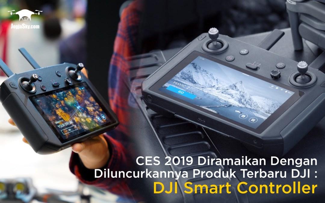 CES 2019 Diramaikan Dengan Diluncurkannya Produk Terbaru DJI: DJI Smart Controller