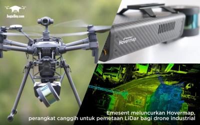 Emesent meluncurkan Hovermap, perangkat canggih untuk pemetaan LiDar bagi drone industrial