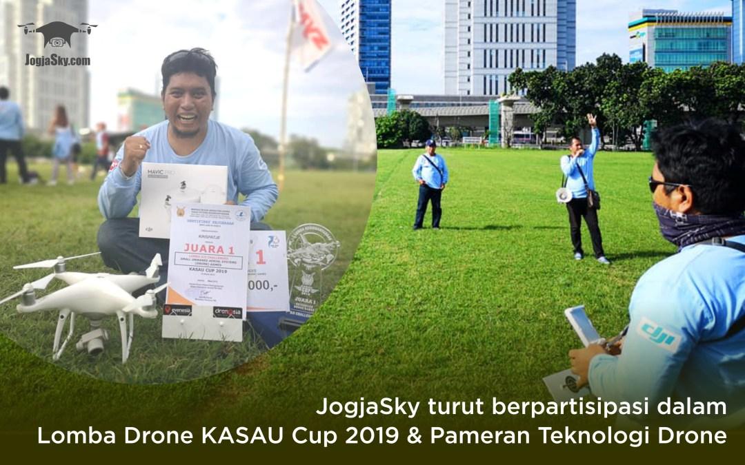 Jogja Sky Turut Berpartisipasi Dalam Lomba Drone KASAU CUP 2019 dan Pameran Teknologi Drone