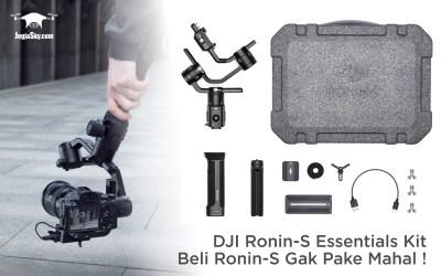 DJI Ronin-S Essentials Kit – Beli Ronin-S Gak Pake Mahal!