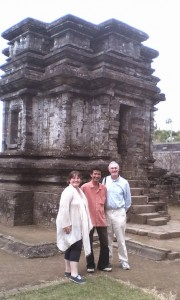 With Spanish Mr. & Mrs. Jose Luis Gil at Dieng Plateau