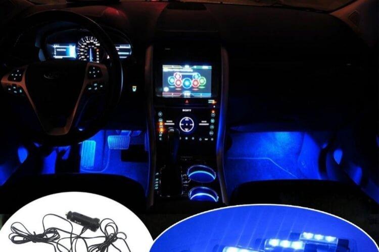 Variasi Mobil Jogja - Lampu Lantai LED