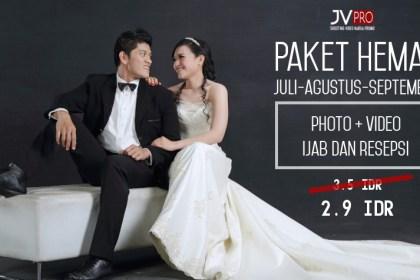 PAKET HEMAT PHOTO+VIDEO WEDDING JOGJA selama Juli-Agustus-September 2017