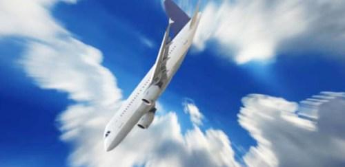 Pesawat jatuh 1