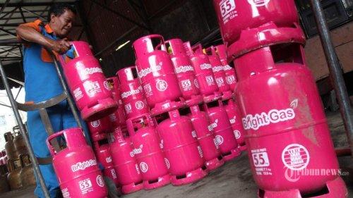 bright gas tabung 55 kg tribun