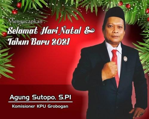 10. Natal Tahun Baru Komisioner KPU Grobogan
