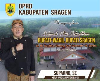 05.00. Ketua DPRD Sragen