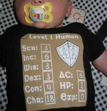 Apesar de não ter nenhuma experiência, o bebê já tem um ótimo carisma (Chr: 18)