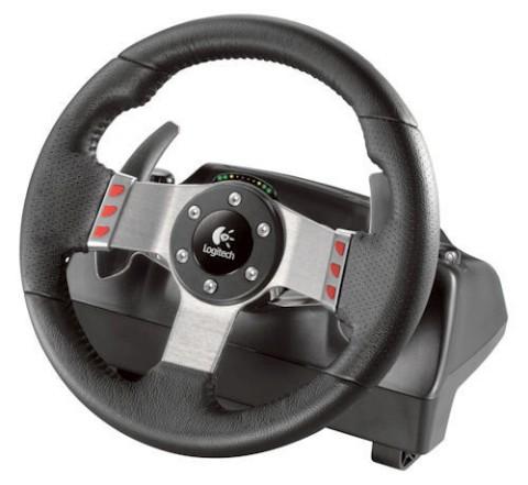 O G27 possui volante de 11 polegadas, câmbio de 6 marchas e câmbio semi automático, dois motores para o force feedback e possui pedais para acelerador, freio e embreagem.