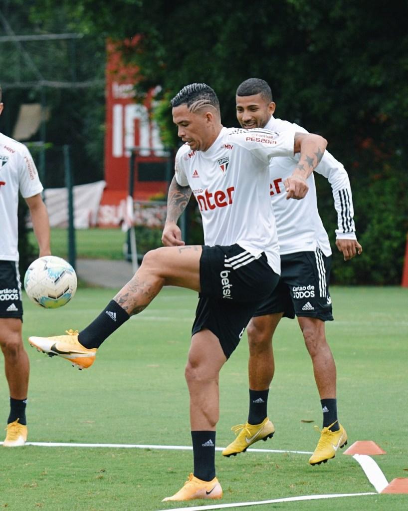 Luciano viaja com São Paulo