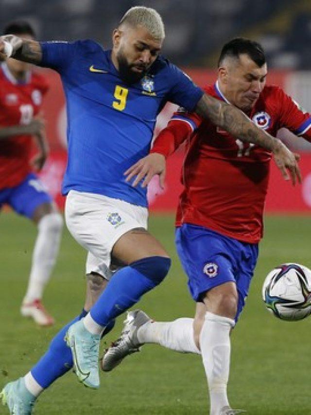 Brasil bate Chile com gol de Everton Ribeiro