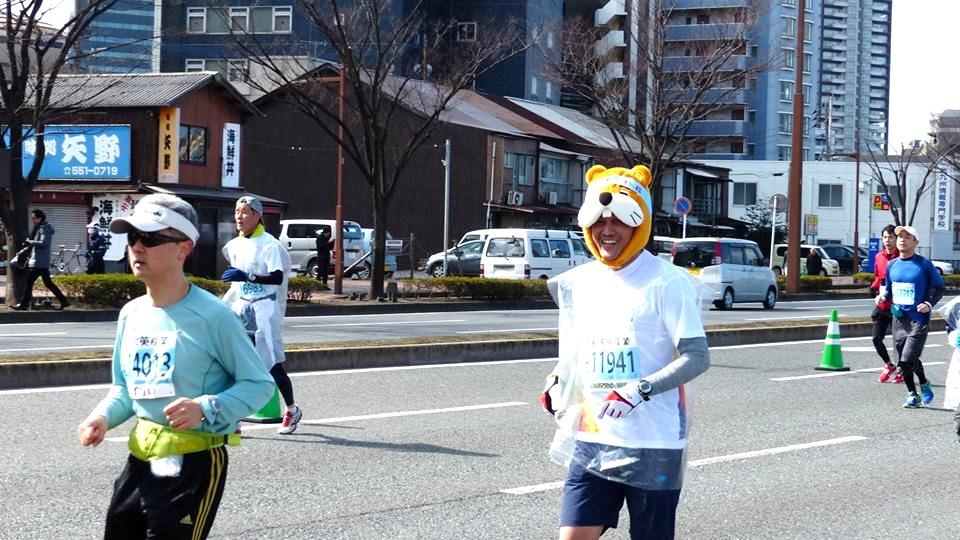2016 北九州マラソンに参加しました♪