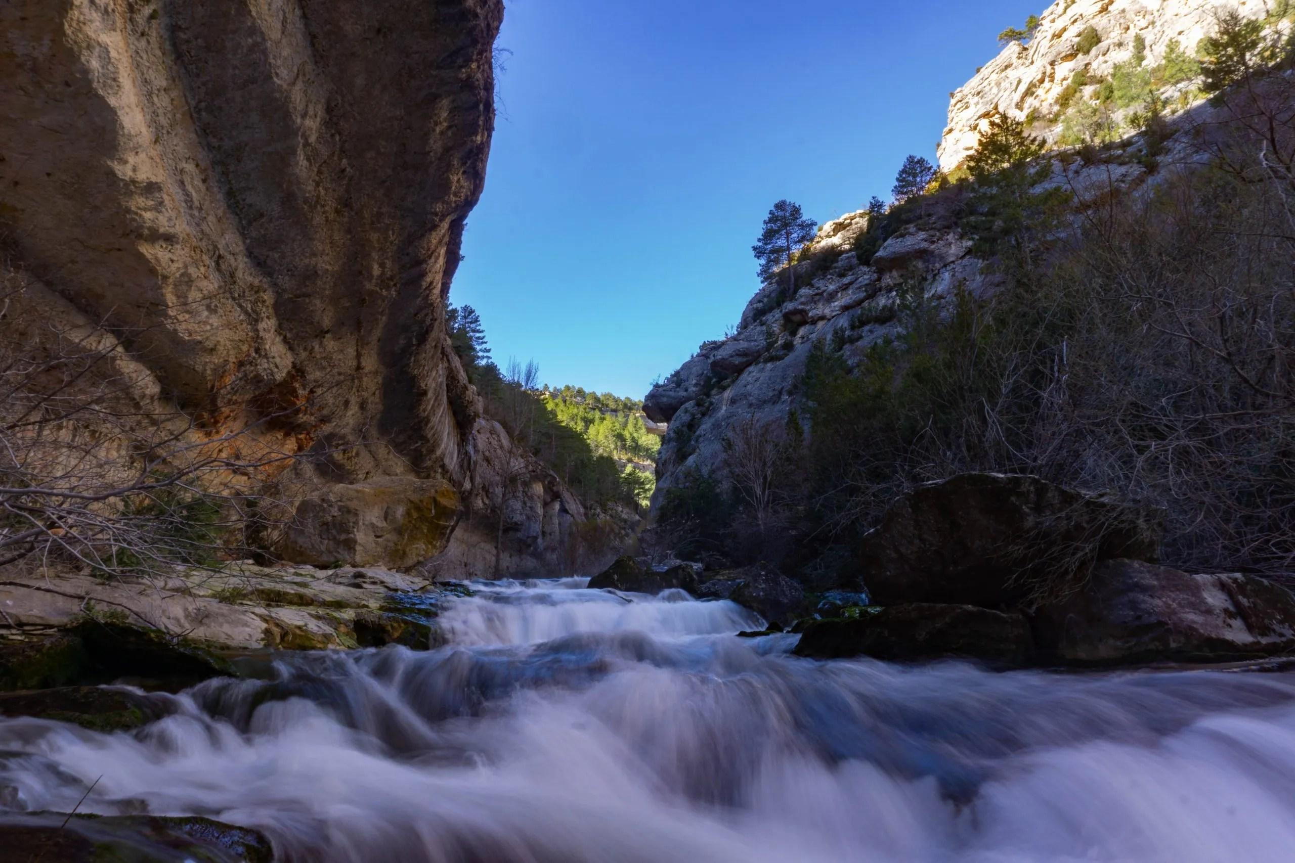 A la source du río Pitarque