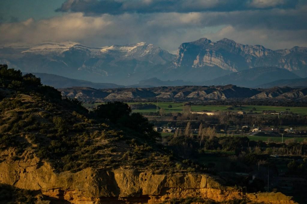 Peña Montañesa et Cañón de Añisclo depuis le mirador de San Quilez