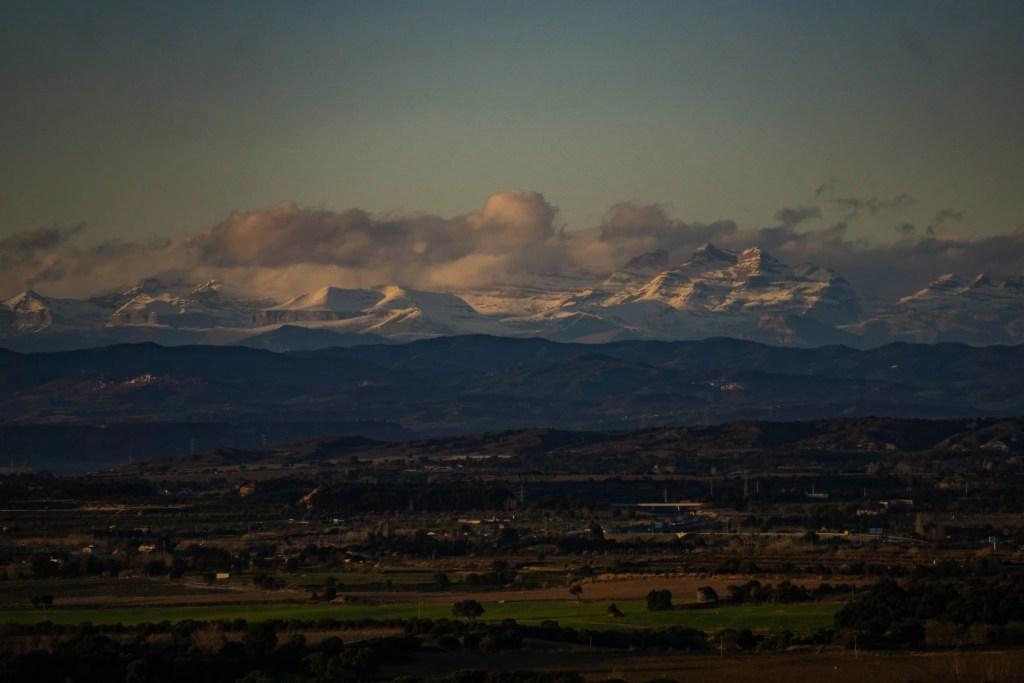 Monte Perdido et Cañón de Ordesa depuis l'Ermita de San Elías