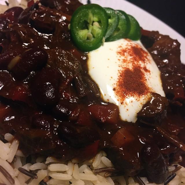 Spicy Venison Chili Con Carne