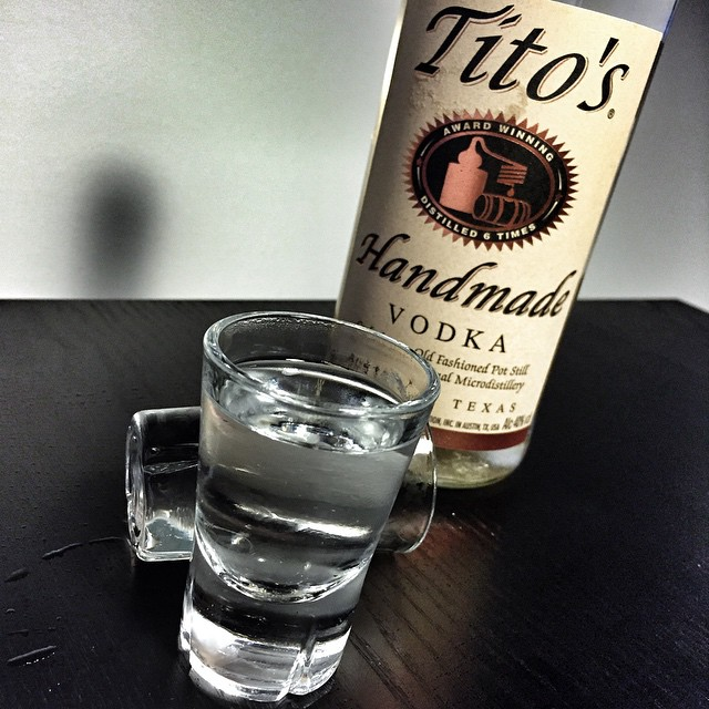 Reviewing Tito's Handmade Vodka