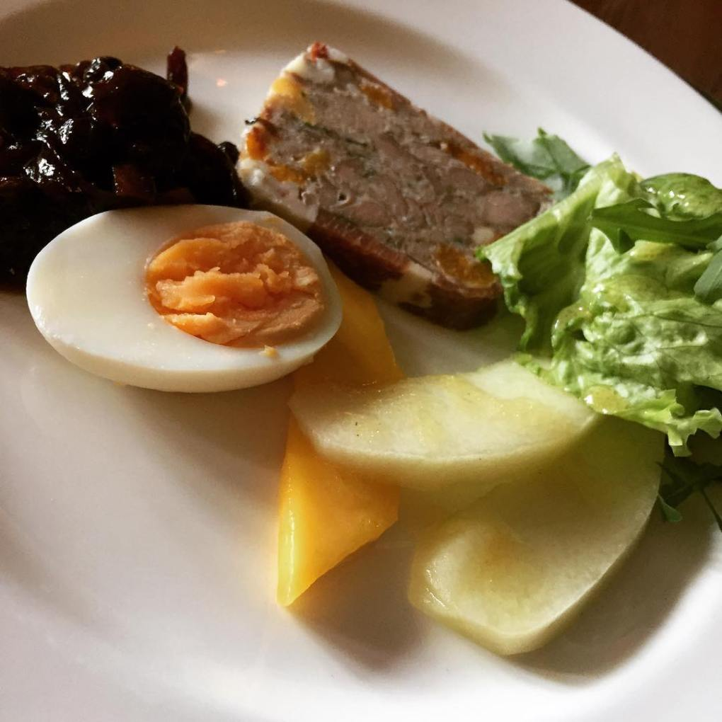 Confit of duck and local pork terrine