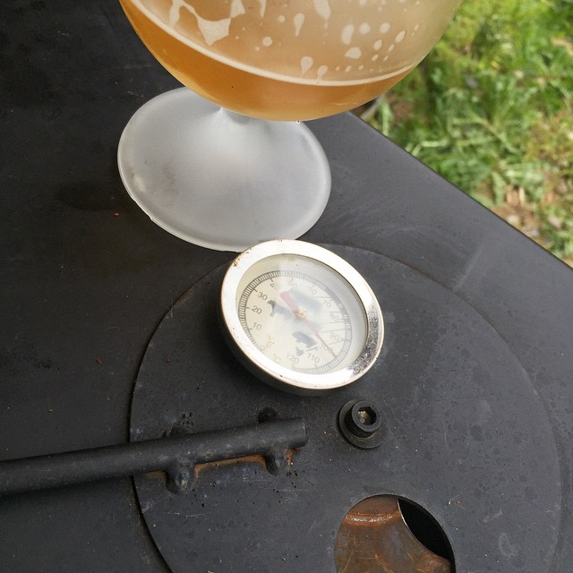 Beers by the smoker