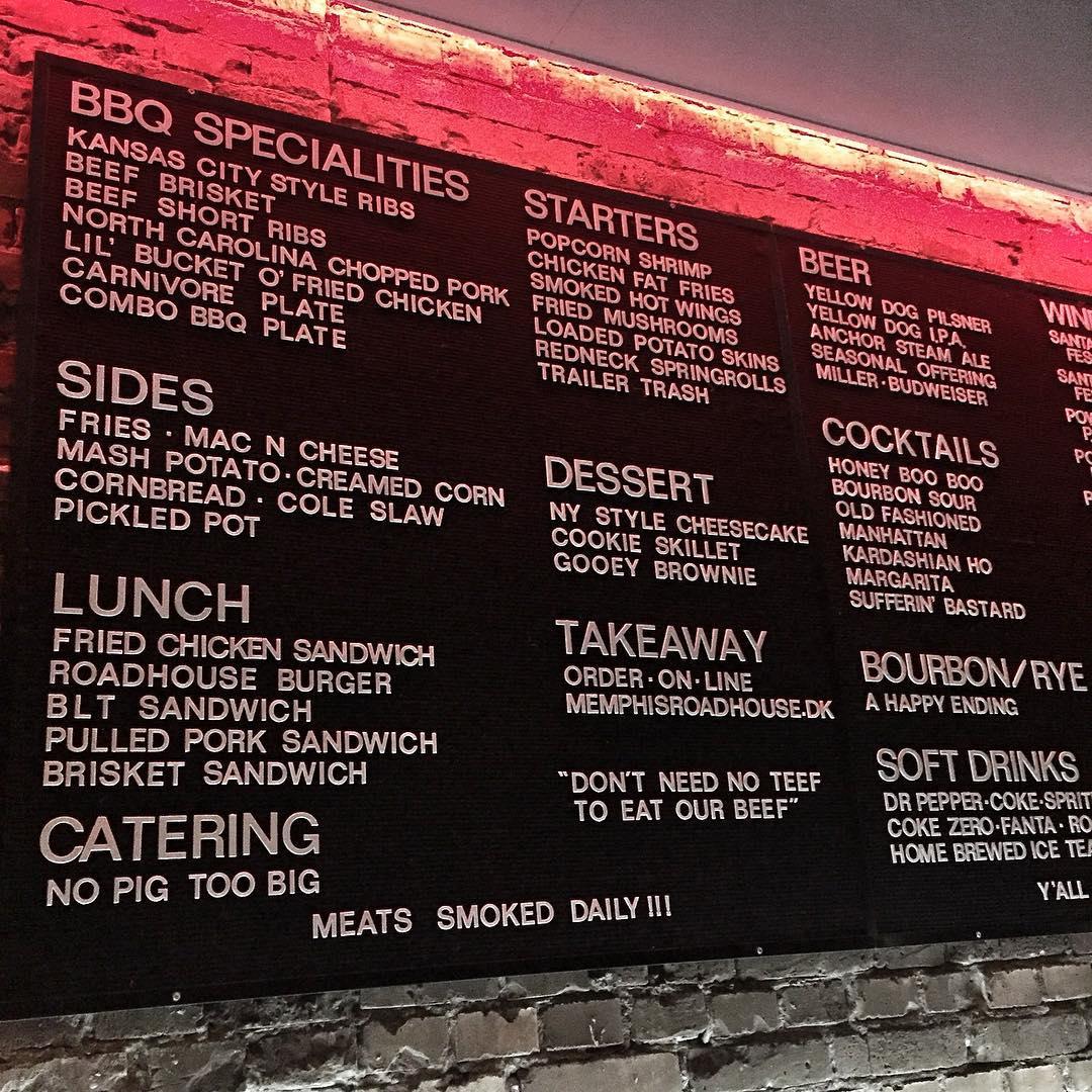 diner århus menu
