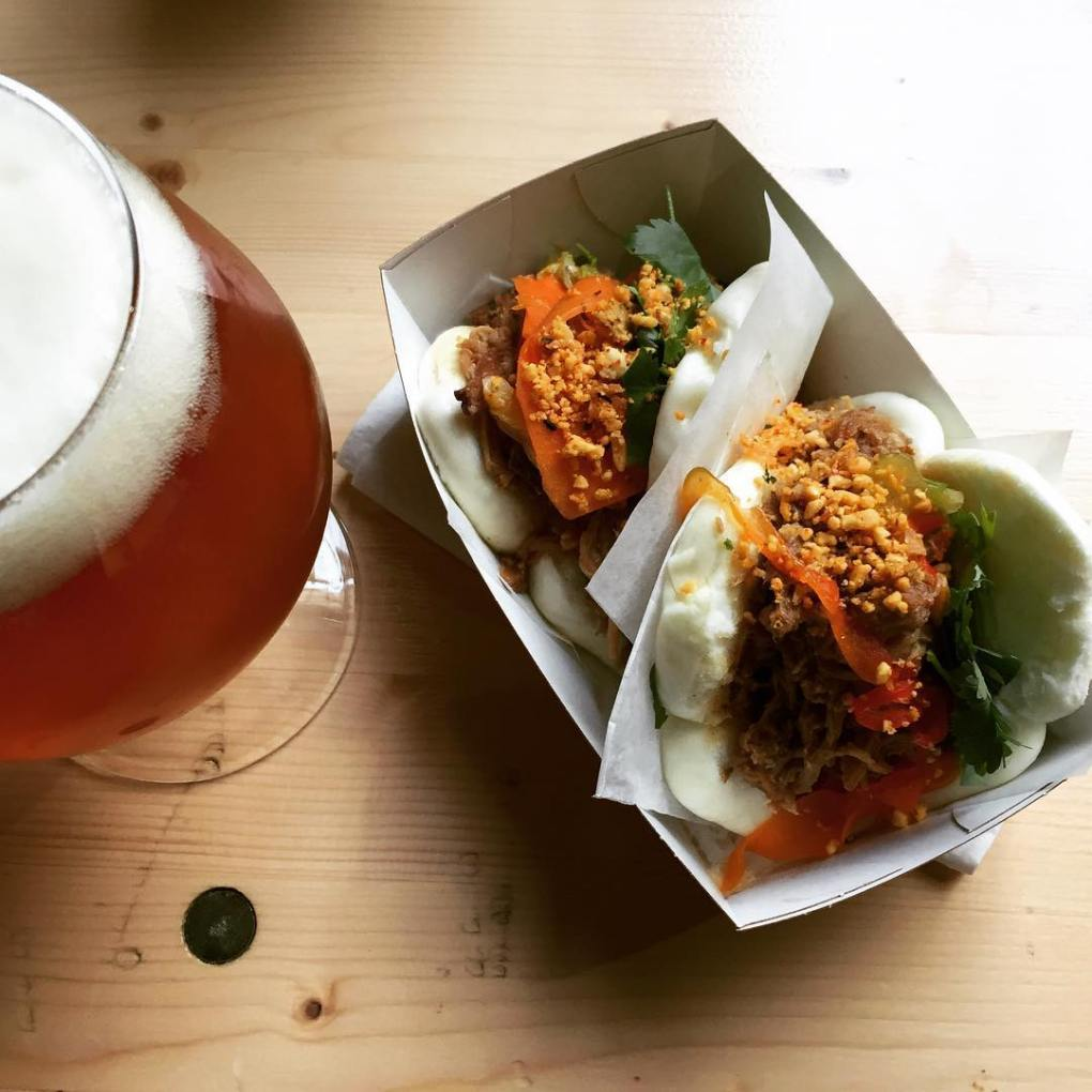Pork Bao and a beer - Aarhus Street Food