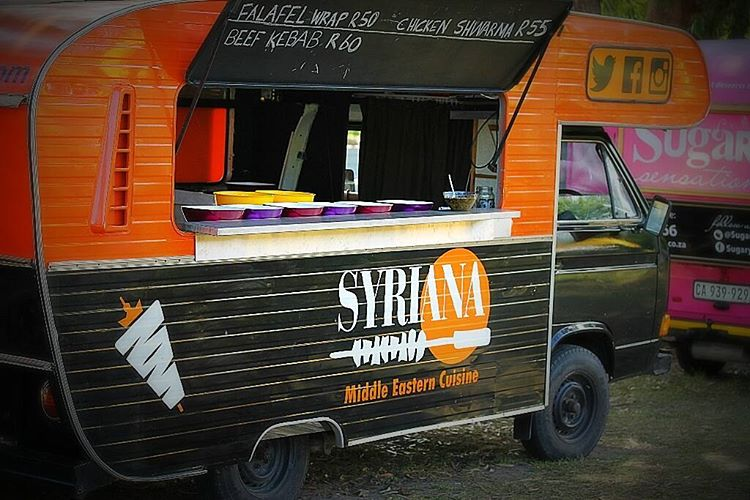 Syriana food truck in South Africa