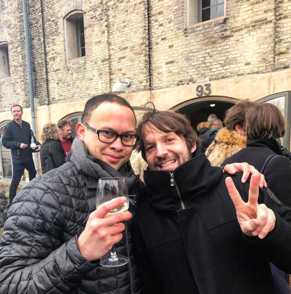 Greg Kauwe and Rene Redzepi