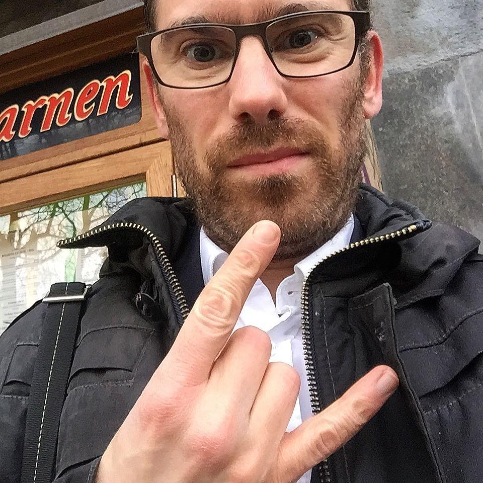 waiting in line at restaurang kvarnen in Stockholm