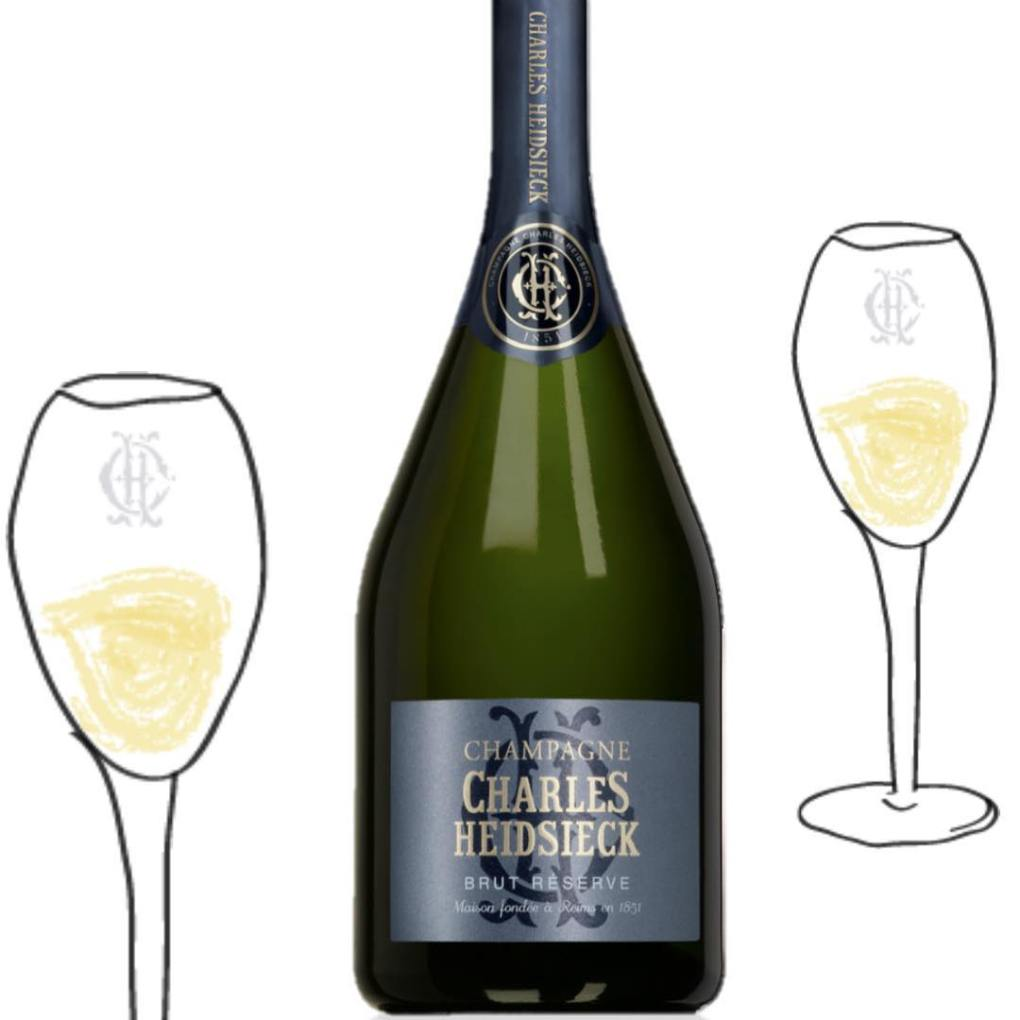 Invitation to Charles Heidsieck Champagne dinner
