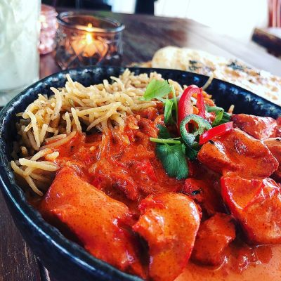 Butter Chicken as served at Bollyfood in Copenhagen