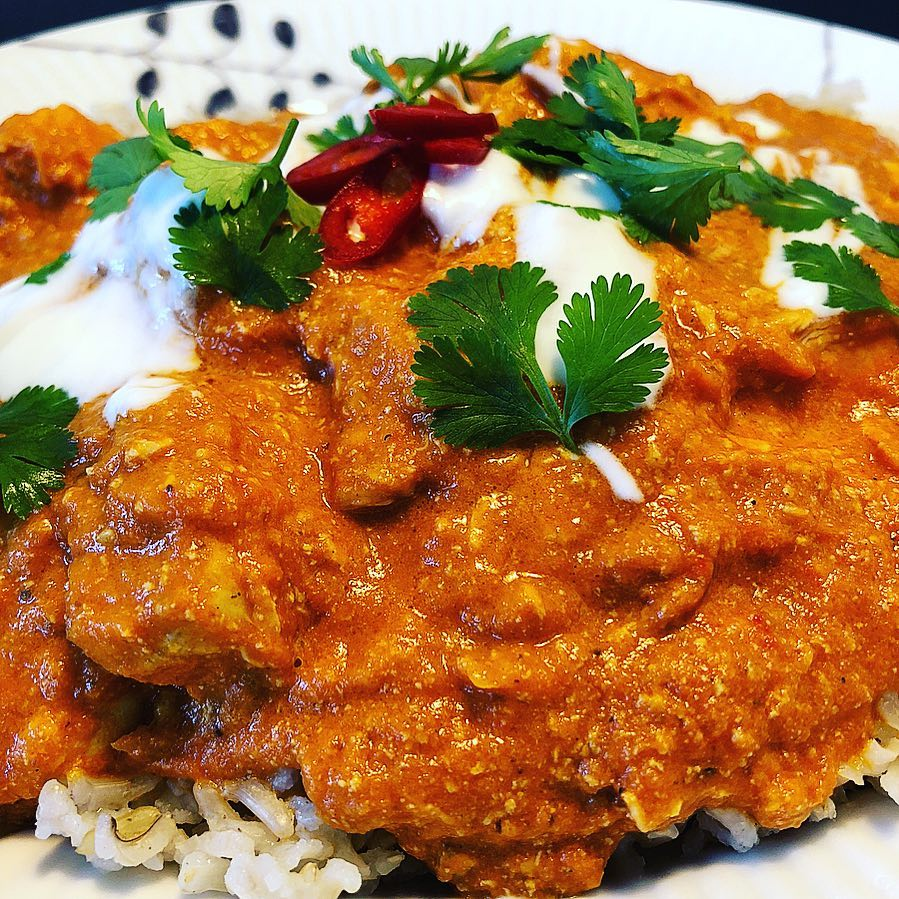 Butter Chicken over rice