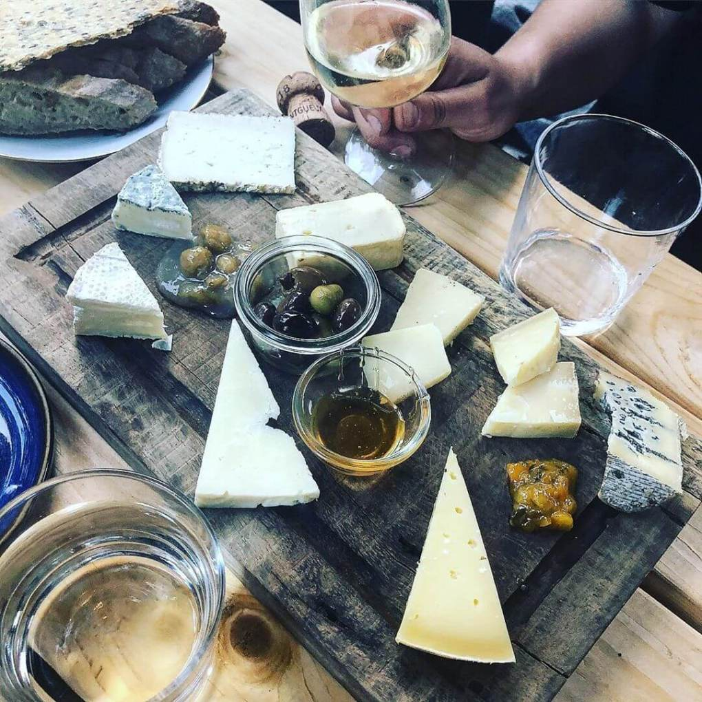 Cheese board at Motley Copenhagen