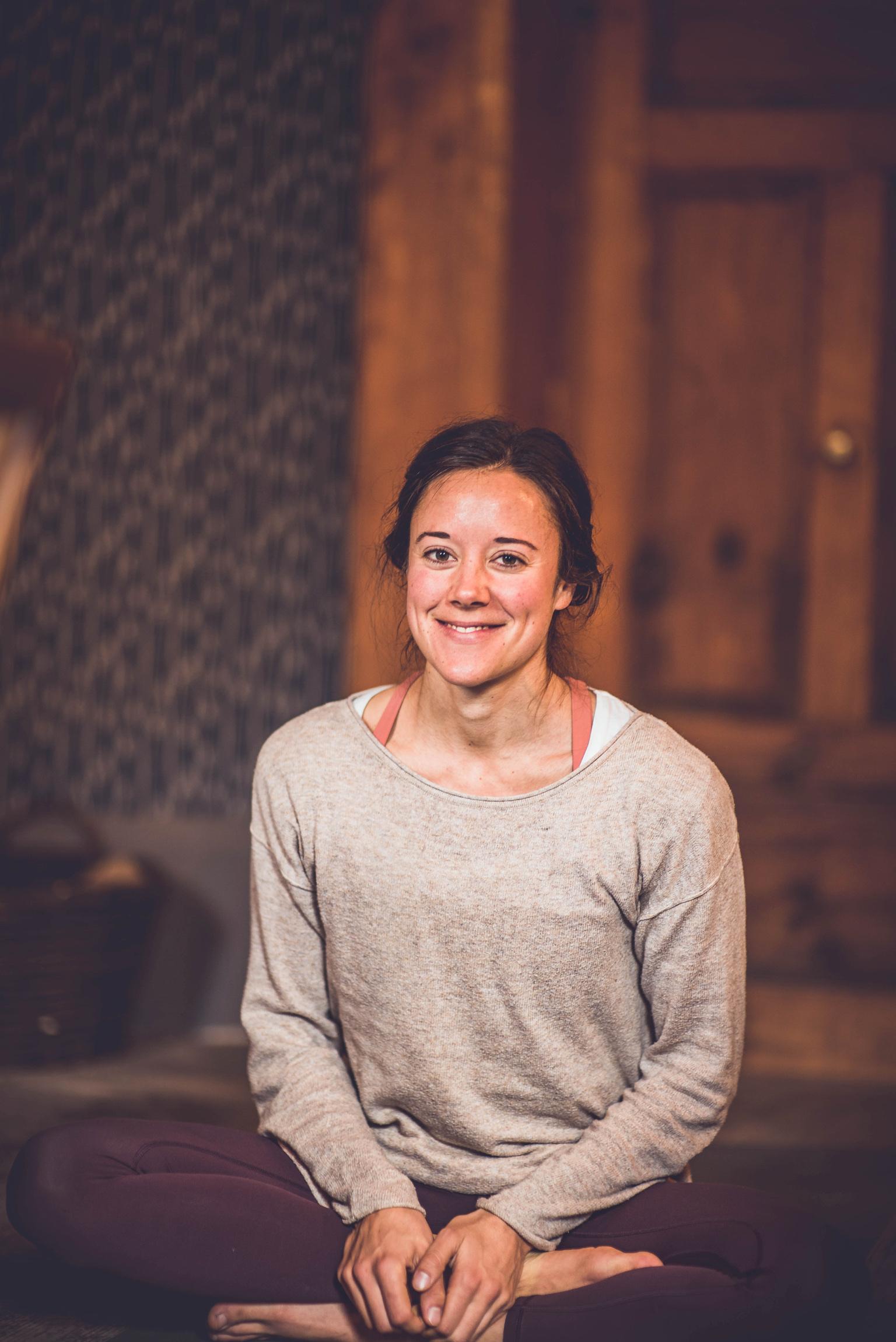 Yoga mit Johanna Hector für ein positives Mindset