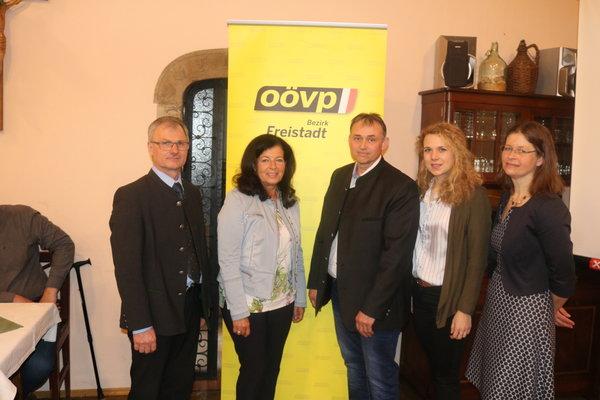Gerhard Piber neuer ÖVP Ortschef in St. Leonhard