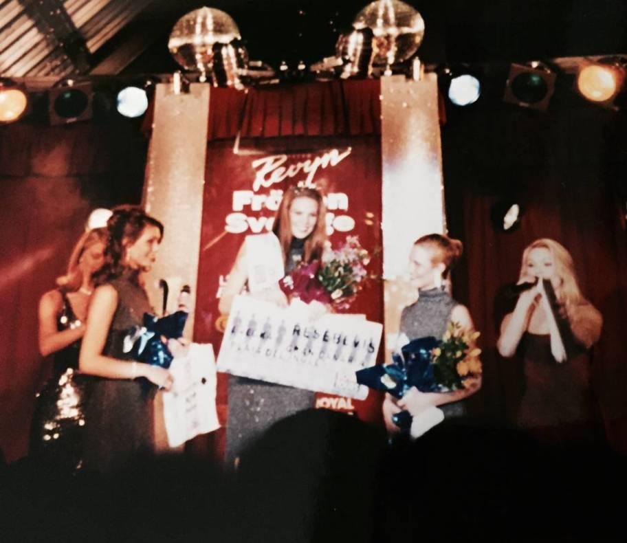 Jag vann Fröken Stockholm 1996