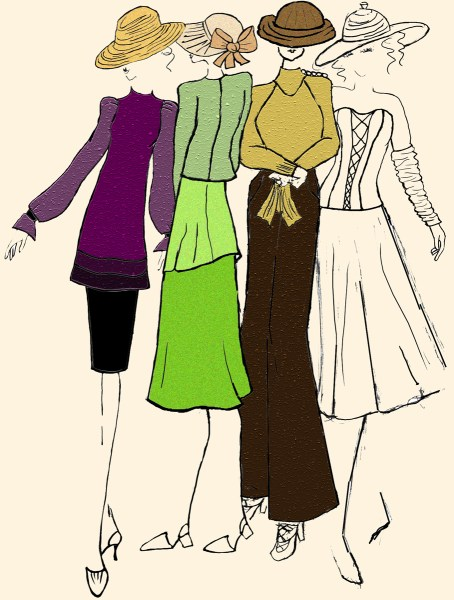 Drawing the Fashion Figure   johannafashiondesign com Sew you want to be a Fashion Designer c