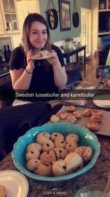 swedish xmas baking