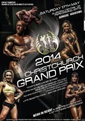 NABBA WFF Christchurch Grand Prix Poster