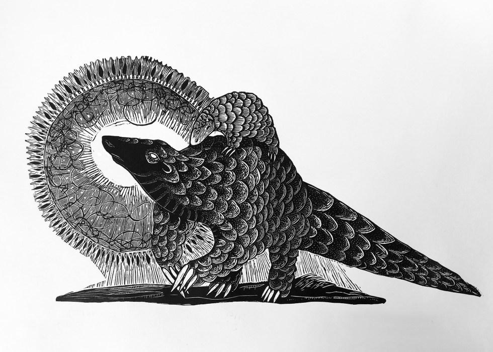Pangolin Print Edition by Johanna Mueller